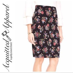 Ann Taylor | NWT Floral Print Pencil Skirt